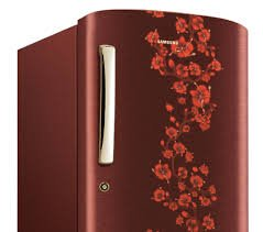 Samsung RR19H1414RH Direct-Cool Single-Door Refrigerator (182 Ltrs, 5 Star Rating, Scarlet Red)