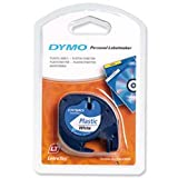 Brand New. Dymo LetraTag Tape Plastic 12mmx4m Pearl White Ref 91201 S0721610