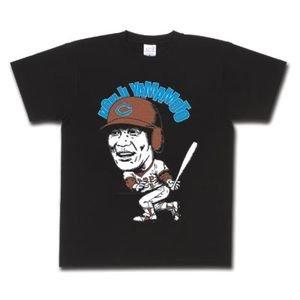 日本プロ野球 名球会オリジナル Tシャツ広島東洋カープ #8 山本 浩二 (ブラック) - M [ウェア&シューズ]