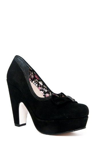 Seychelles Women's Ampersand Platform Pump,Black,10 M US