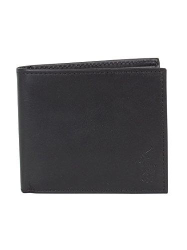 polo-ralph-lauren-homme-billfold-wallet-logo-noir-one-size