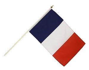 Digni® Drapeau France sur hampe