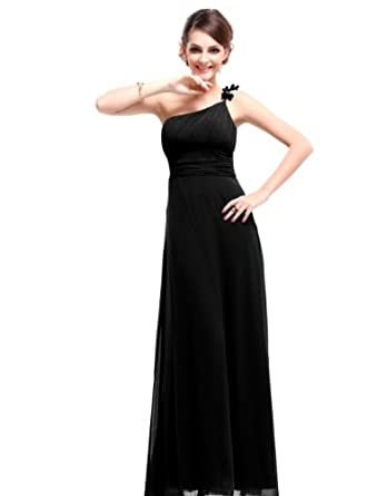HE09596BK06, Black, 4US, Ever Pretty Cheap Long Dresses For Juniors 09596