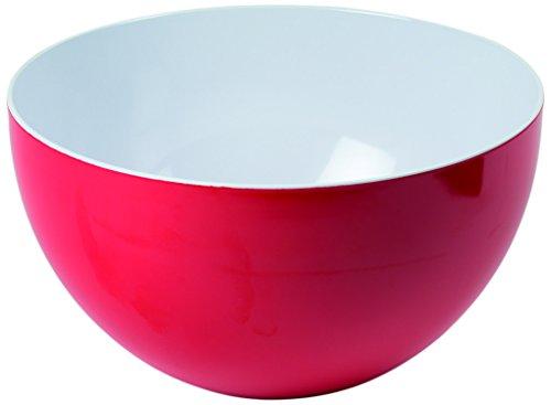 Ohne Marke T3840RG Salatschüssel, Melamin, Groß, Rot