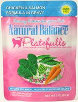 Detail image Natural Balance Pet Food Platefulls Canned Cat Food Chicken and Salmon -- 3 oz