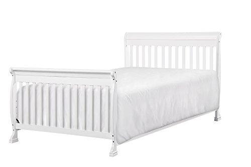 DaVinci Kalani 4-in-1 Convertible Crib with Toddler Rail, White