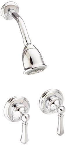 Pfister 2-Handle Shower Only w/Metal Lever Handles in Polished Chrome (Pfister Two Handle Shower Faucet compare prices)