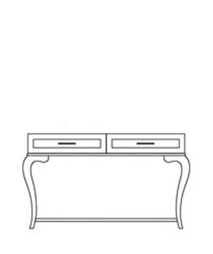 Cheap Console Table by AICO – Timeless Brown-43 (26223-43) (26223-43)