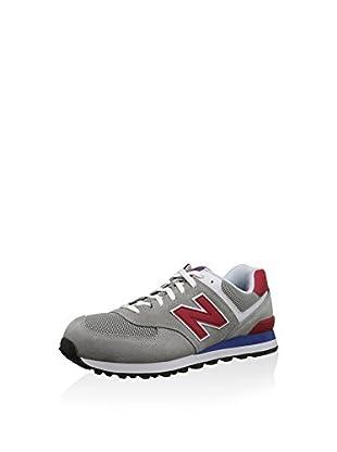 New Balance Zapatillas Wl574Bfl (Gris / Rojo)