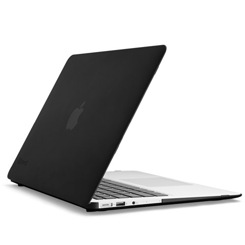 Speck Products SeeThru Satin Soft Touch, Hard Shell Case for MacBook Air 13-Inch, Black (Speck Macbook Air compare prices)