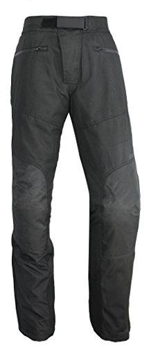 Nerve 1511070404_05 Pantaloni Moto Easy Going, Nero, XL