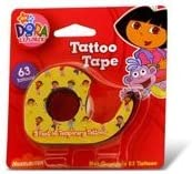 Tattoo Tape Party Favor for Dora the Explorer Birthday Parties by Nick