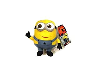 WAWO Despicable Me Minion Stewart Plush Figure Cartoon Toy Cute Design