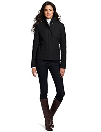Tommy Hilfiger Women's Quilted Jacket, Black, Small