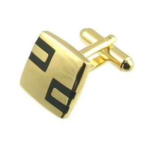 Roman Gold Plated Cufflinks - Nickel Free