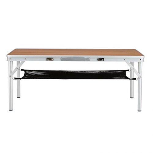 NEUTRAL OUTDOOR(ニュートラルアウトドア) 天然竹使用の折り畳みキャンプテーブル NT-BT01 バンブーテーブル L 23467