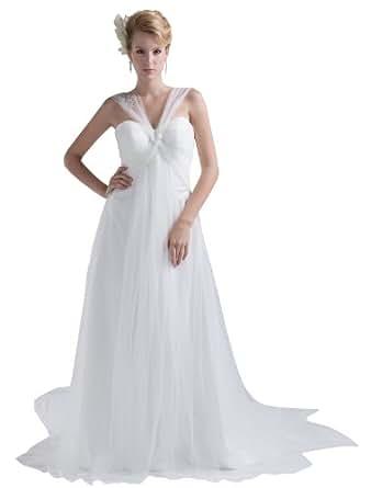 Herafa Wedding Dress Elegant NOw35202 At Amazon Womens Clothing Store