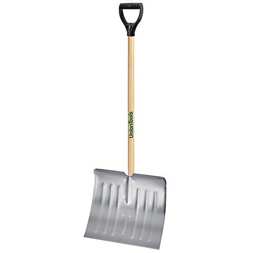 UnionTools 18-Inch Aluminum Snow Shovel - 1640400