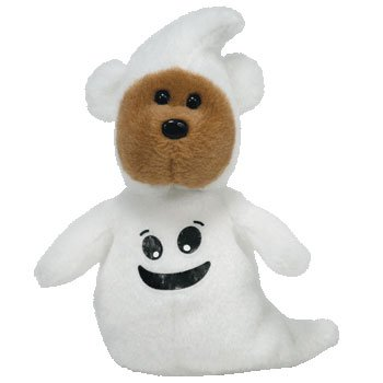 Ty Halloweenie Beanie Sheetsies - the Bear - 1