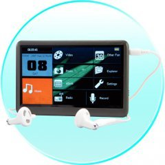 The BOMB / MP6/MP5/MP4/MP3 Player / 16 inch screen