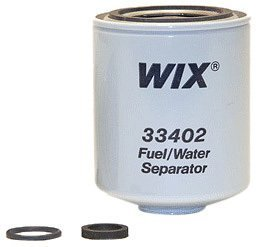 Wix 33402 Spin-On Fuel and Water Separator Filter, Pack of 1