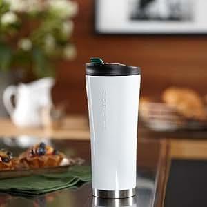 Starbucks 2011 Stainless Steel 16 oz. Tumbler - Phinney White
