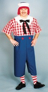 Raggedy Andy Adult Costume Size Standard