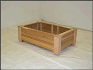 Cedar Creek 2412 23 in. Raised Container Garden