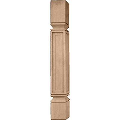 Ekena Millwork COL03X03X35KEAL 3 3/4-Inch W x 3 3/4-Inch D x 35 1/2-Inch H Kent Raised Panel Cabinet Column from Amazon.com, LLC *** KEEP PORules ACTIVE ***
