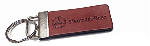 Genuine Mercedes Leather and Metal Key Ring (Mercedes Key Ring compare prices)