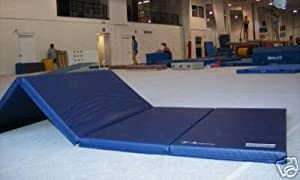 "4'x8'x2"" Gymnastics Tumbling Martial Arts V4 Folding Mat"