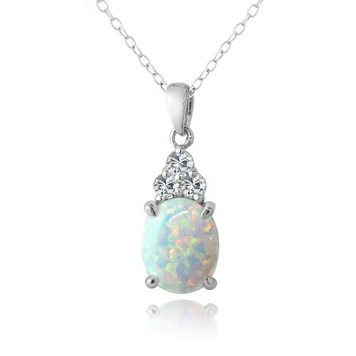 sterling-silver-created-white-opal-white-sapphire-oval-necklace