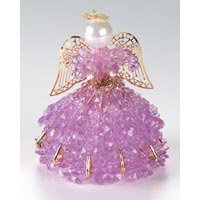 Birthstone Angel Ornament Bead Kit - June Alexandrine