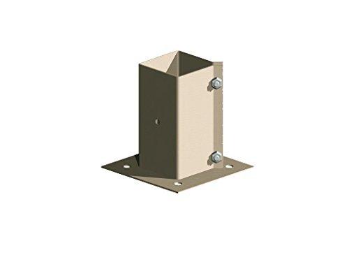 cloture-en-metal-bois-support-poteau-a-fixer-comme-met-post-102-cm-100-mm