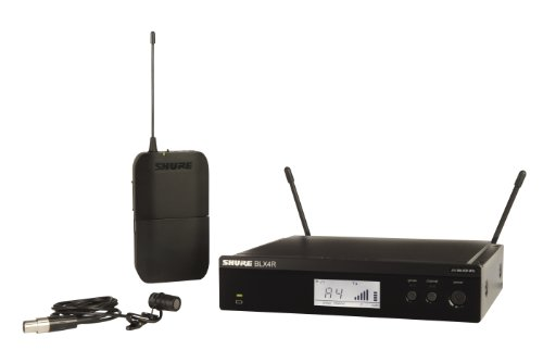 Shure Blx14R/W85 Wireless Presenter Rack Mount System With Wl185 Lavalier Microphone, M15