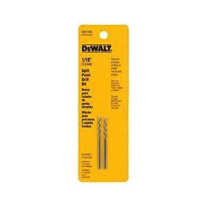 DEWALT DW1915 15/64-Inch Gold Ferrous Oxide Pilot Point Twist Drill Bit