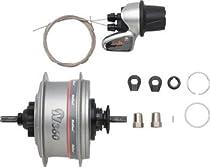 NuVinci N360 CVP Rear Hub 36 hole Silver