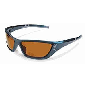 Browning Alpha Max Blue Frame Amber Polarized Lens