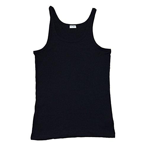 Canotta T-shirt senza maniche Maglia D&G Dolce e Gabbana WITH BOX MEN UOMO TANK (M, NERO)