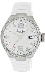 Kenneth Cole Synthetic White Dial Women's Watch #KC4811