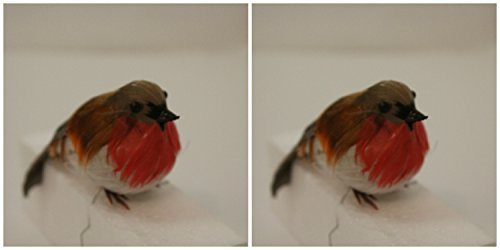 christmas-bird-2-realistic-red-breasted-robins-ideal-for-oasis-scene-xmas-cake-decoration