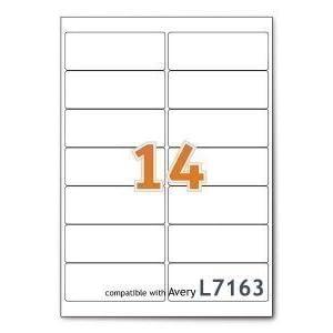 A4 Mailing Address Printer Labels Sheet 14 Labels Per Sheet 100 Sheets 1 Box