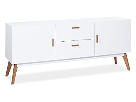 "Kommode ""Milan K I"" Sideboard Weiß"
