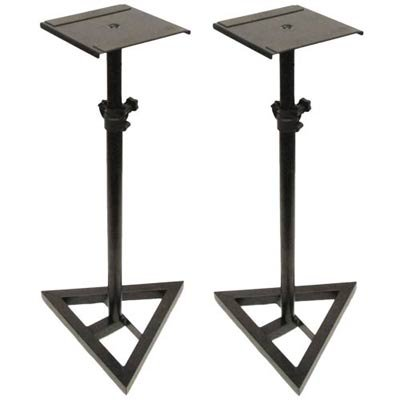 Seismic Audio - SR06-2PK - Pair of Steel Monitor or Amp Stands from Seismic Audio