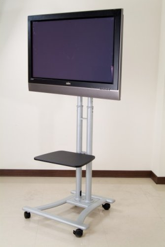MonMount LCD-8620A Mobile TV Cart for LCD Plasma and LED TVs ...