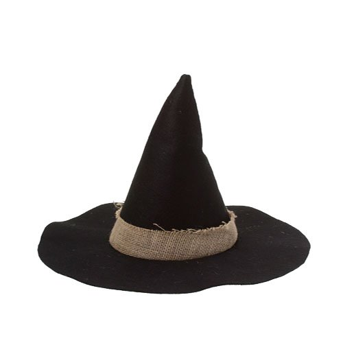 Deluxe Witches Hat w/Burlap