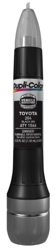 Dupli-Color ATY1566 Metallic Black Toyota Exact-Match Scratch Fix All-in-1 Touch-Up Paint - 0.5 oz. (Toyota Camry Paint compare prices)