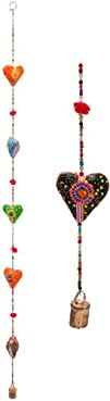 Indian-style Heart Hanging Mobile