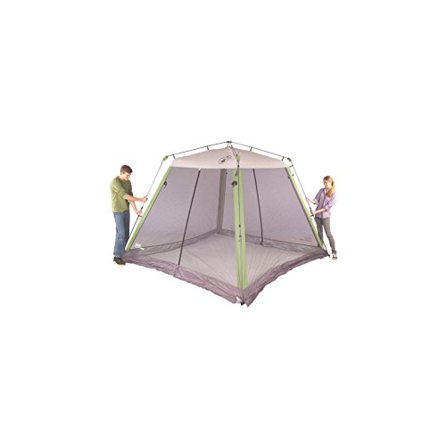 Coleman 10 10 Instant Canopy With Screen Walls : Coleman instant screened canopy new ebay