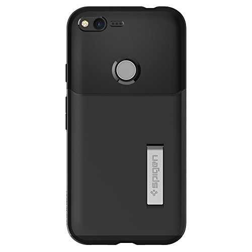 Spigen-Slim-Armor-Google-Pixel-XL-Case-with-SF-Coated-Non-Slip-Matte-Surface-and-Air-Cushion-Technology-Protection-for-Google-Pixel-XL-2016-Black